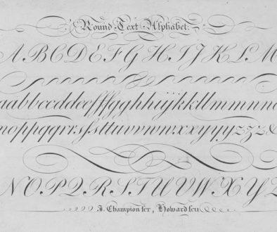 Round-text-alphabet